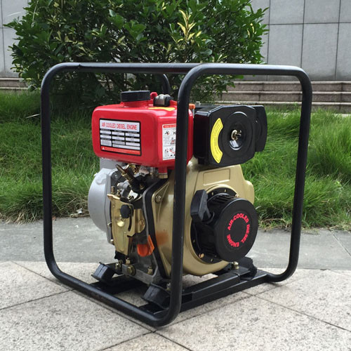 WP40 4-Stroke Portable Manual 4 Inch Diesel water pump for agricultural irrigation