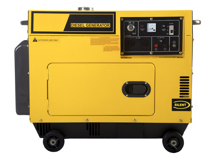 Silent Small Portable Diesel Generator with 4-stroke , air-cooled , single-cylinder engine