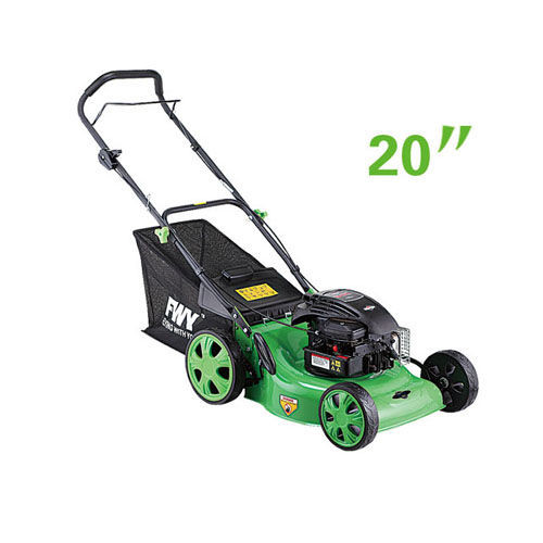 "Gasoline 20"" Self propelled lawn mower hay cutter with adjustable cutting height"