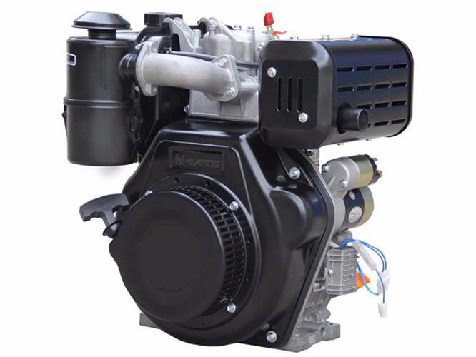 1- Cylinder 4- Stroke air - cooled diesel engine , portable 186FA small engine diesel