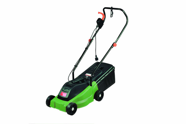 Electric Industrial Lawn Mowers 1200W / 32cm Portable Lawn Mower Easy To Use