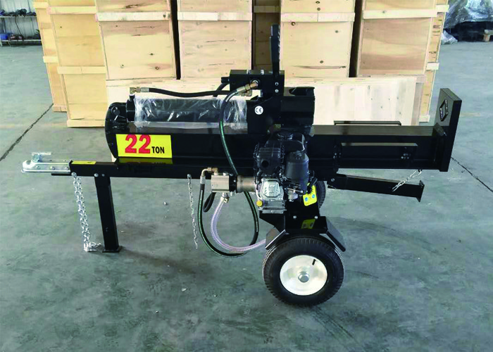 Four Stroke Firewood Log Splitter With Gasoline Engine Or Diesel Engine