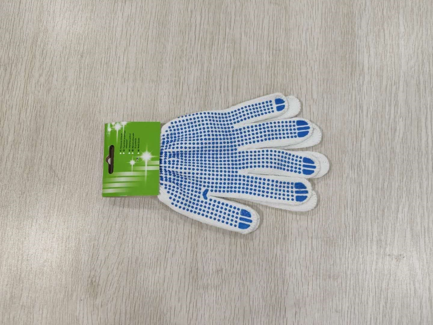 Cotton Material Working Glove 80 Grams Cotton In 13 Gauge For Construction