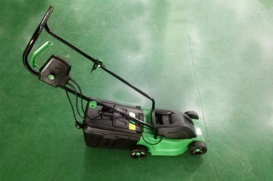 1000W Electric Garden Lawn Mower , 30cm Grass Cutting Machine Lawn Mower