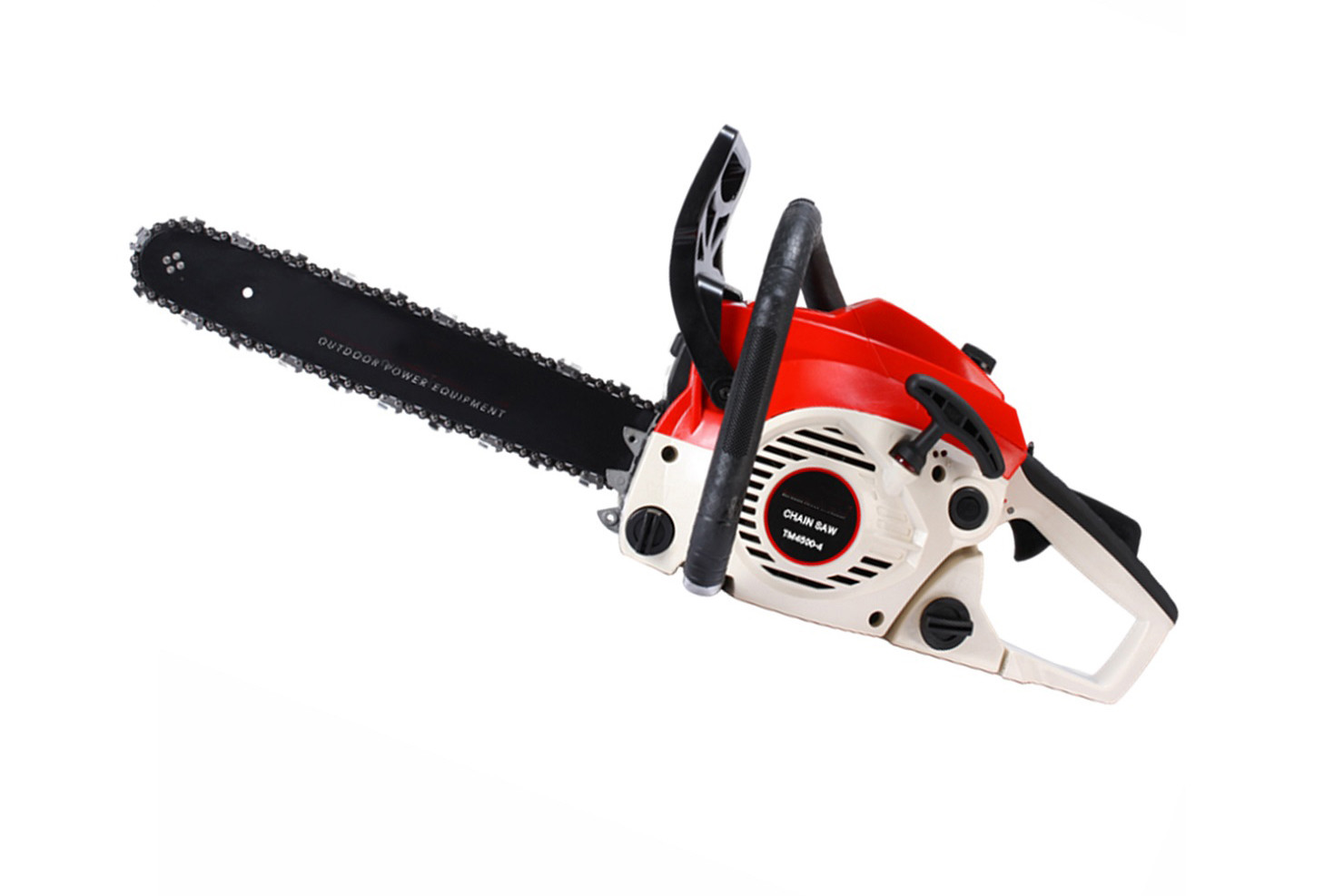 45cc 2 Stroke Wood Cutting Saw / Petrol Chainsaw With Emission 5 Air Cooling
