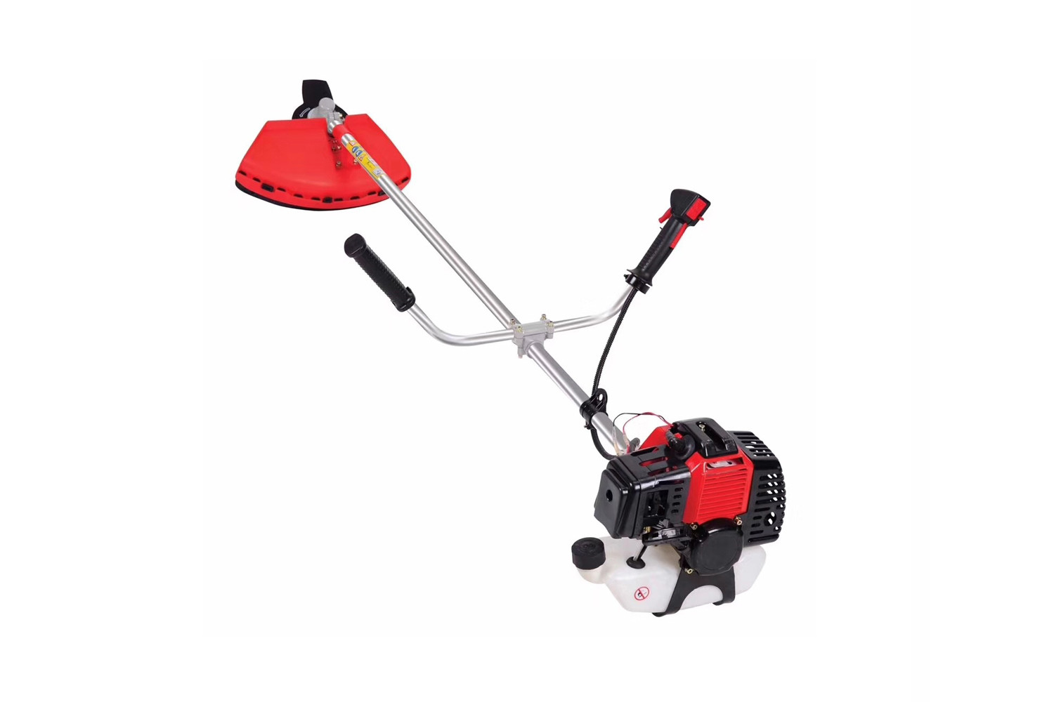 2 In 1 Gasoline 43cc Brush Cutter Machine / 25/1 Oil Mixing Grass Trimmer